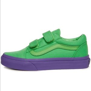 Vans Kids Old Skool V Cosplay Sneakers, sz 4.5